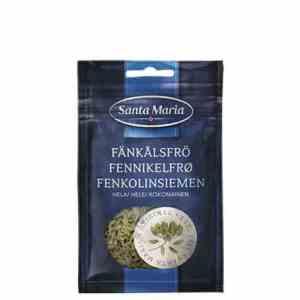 Prøv også Santa maria fennikel hel.