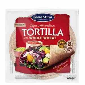 Prøv også Santa Maria tortilla fullkorn medium.