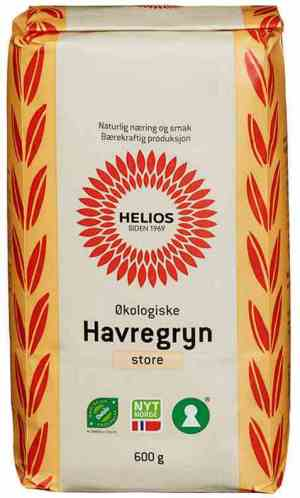 Prøv også Helios havregryn store.