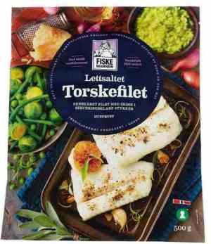 Prøv også Fiskemannen torsk lettsaltet.