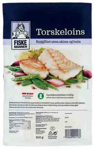 Prøv også Fiskemannen torskeloins.