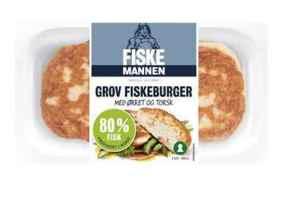 Prøv også Fiskemannen fiskeburger 80% med ørret og torsk.