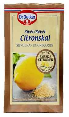 Bilde av DrOetker Revet Sitronskall.