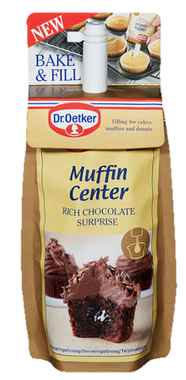 Bilde av DrOetker Muffin Center Chocolate.