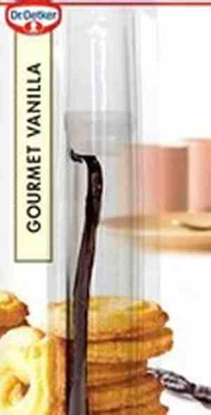 Prøv også DrOetker vaniljestenger.