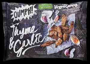 Prøv også Oumph thyme and garlic.