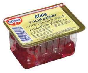 Prøv også DrOetker Cocktailbær Røde.