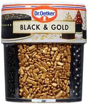 Prøv også DrOetker Black and gold.