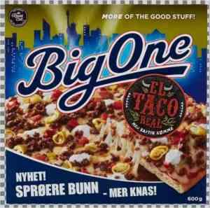 Prøv også BigOne El Taco Real.