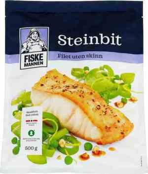Prøv også Fiskemannen Steinbitfilet uten skinn.