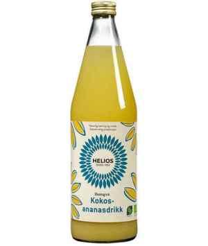 Prøv også Helios Kokos-ananasdrikk.