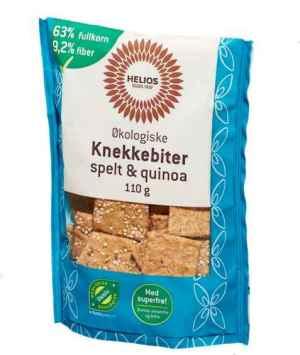 Prøv også Helios Knekkebiter med spelt og quionoa.