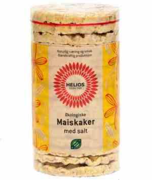 Prøv også Helios maiskaker med salt.