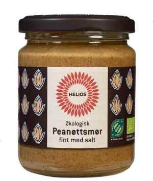 Prøv også Helios Peanøttsmør, fint med salt.