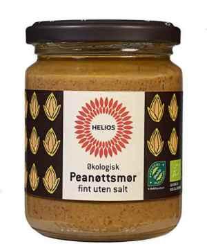 Prøv også Helios Peanøttsmør, fint uten salt.