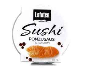Prøv også Lofoten Sushi Ponzusaus.