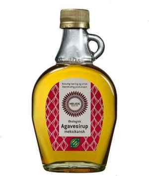 Prøv også Helios agavesirup.