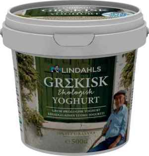 Prøv også Lindahls Gresk  Økologisk Yoghurt.
