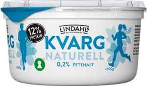 Prøv også Lindahls kvarg naturell.