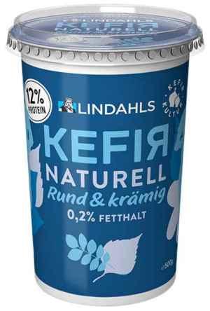 Prøv også Lindahls kefir naturell.