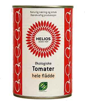 Prøv også Helios hele flådde tomater.