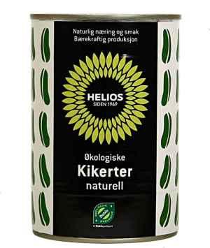 Prøv også Helios Kikerter, naturell.