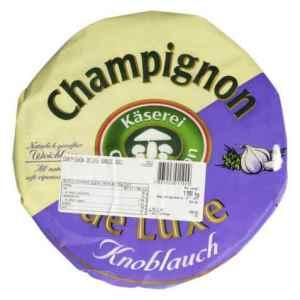 Prøv også Champignon brie med hvitløk.