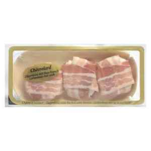 Prøv også Chèvre m/bacon.