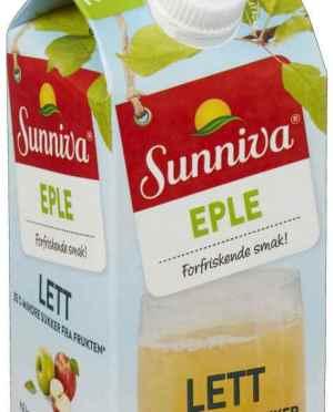 Prøv også Tine sunniva lett eple.