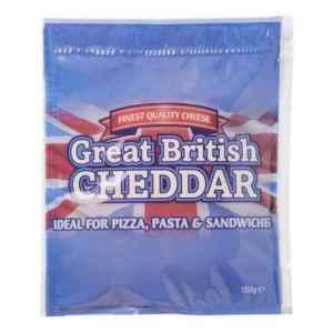 Prøv også Cheddar engelsk revet 150 g.