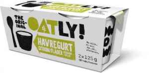 Prøv også Oatly dobbelgurt sitron og hyllebærblomst.