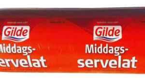 Prøv også Gilde middagsservelat.