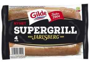 Prøv også Gilde supergrill med jarlsberg.