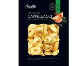 Prøv også Cappellacci reker, ricotta og sitron.
