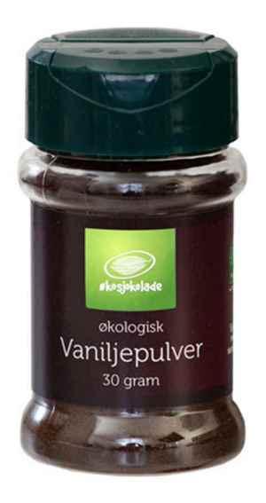 Prøv også Vaniljepulver.