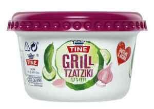 Prøv også Tine Grill Tzatziki.