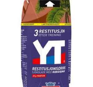 Prøv også Tine YT Restitusjonsdrikk sjokolade med kokos.