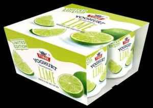 Prøv også Tine yoghurt Lime.