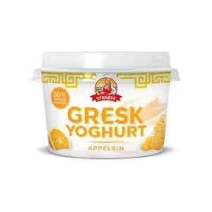 Prøv også Synnøve gresk yoghurt appelsin.