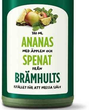 Prøv også Bramhult ananas, epler og spinat.