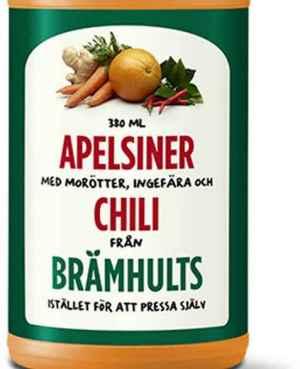 Prøv også Bramhult appelsiner, gulrot, ingefær og chili.