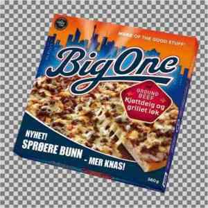 Prøv også Big One kjøttdeig og løk.