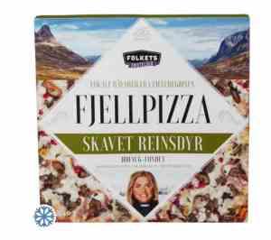 Prøv også Folkets fjellpizza med skavet reinsdyr.