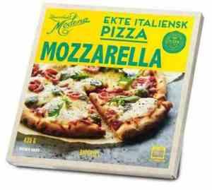 Prøv også Rema 1000 Pizza Mozzarella.