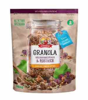 Prøv også Synnøve granola med gresskarkjerner og rosiner.