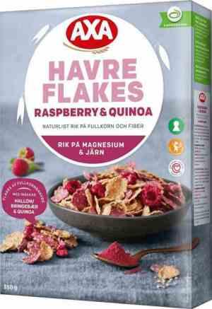 Prøv også Axa havreflakes raspberry.