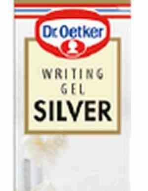 Prøv også Dr. Oetker Writing Gel Silver.