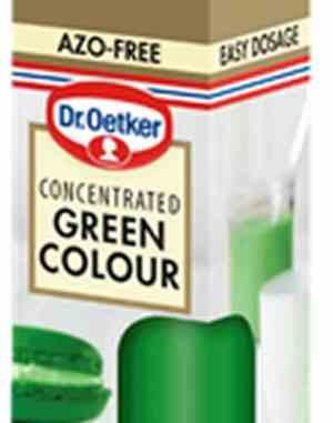 Prøv også Dr. Oetker Grønn Konditorfarge.