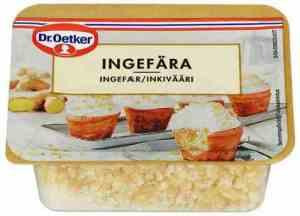 Prøv også Dr. Oetker Ingefær.