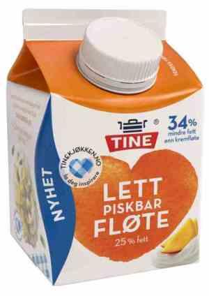 Prøv også Tine Lett Piskbar Fløte.